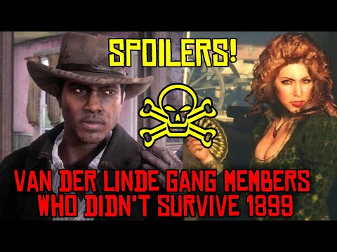 RED DEAD REDEMPTION 2 ☆VAN DER LINDE GANG MEMBERS THAT DIDN'T SURVIVE 1899 ☆ SPOILER! DEATHS ☆ RDR2