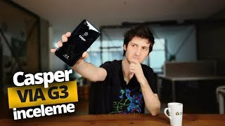 1.699 TL'ye yapay zekalı telefon: Casper VIA G3 İnceleme!