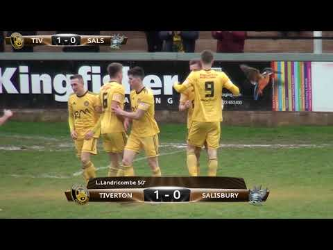 Tiverton Town vs Salisbury - Saturday 16th March 2019 - Premier Division South