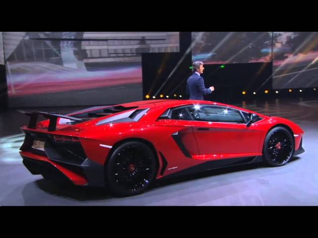 Auto Shanghai 2015: Lamborghini at Volkswagen Group Night