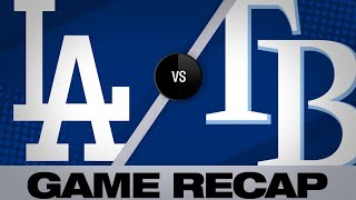 5/21/19: Kershaw, offense lead Dodgers past Rays