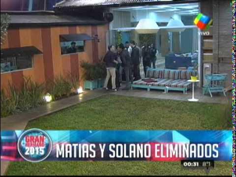 Matías y Solano, los nuevos eliminados de La Casa