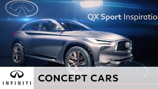 The INFINITI QX Sport Inspiration at Paris Motor Show 2016 thumbnail