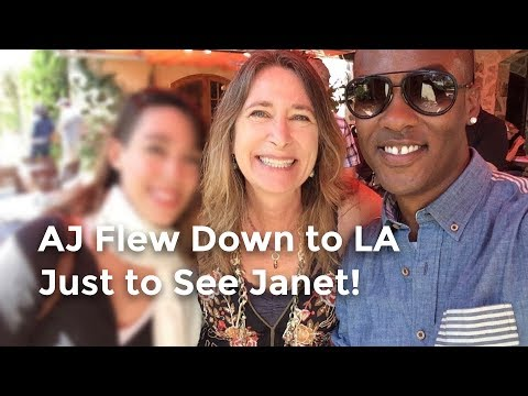 AJ Flew to LA Just for Janet!? (Stonehaus Get-Together)