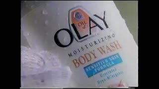 Oil Of Olay - Moisturizing Body Wash Commercial (1996)