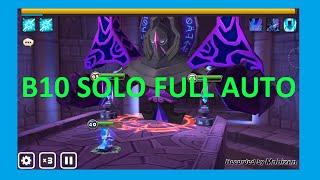 Solo Full Auto Hall of Dark B10 | Lumirecia | Summoners war