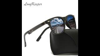 Солнцезащитные очки longkeeper tr90 поляризационные квадратные гибкие для вождения спортивные от
