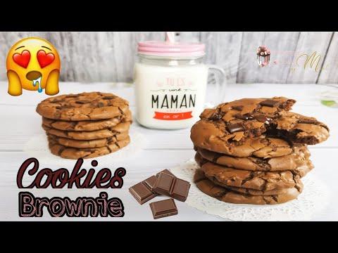 cookies-brownie-🍫😋-recette-inratable-💯✅