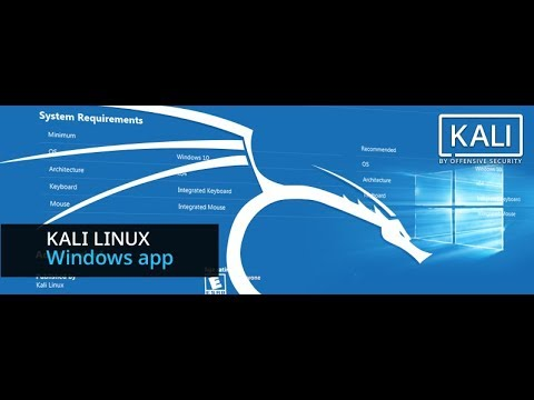Install Official Kali Linux on Windows 10 and Solution for Error 0x8007007e