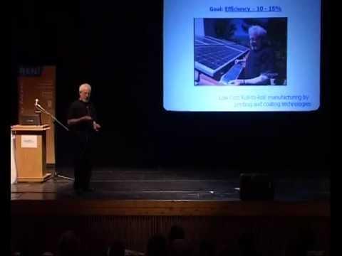 Prof. Alan Heeger Plastic Solar Cells