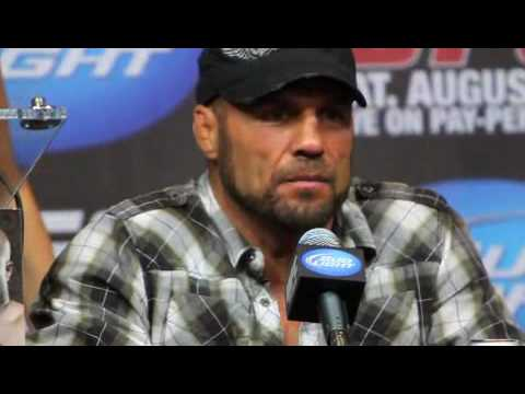 Randy Couture Comments After UFC 118 Win Over James Toney - MMA Weekly News