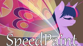 MLP Speedpaint - Breezie Twilight Sparkle
