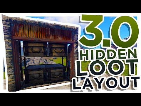 BEST Hidden Loot Building 3.0 Floorplan Design | Rust