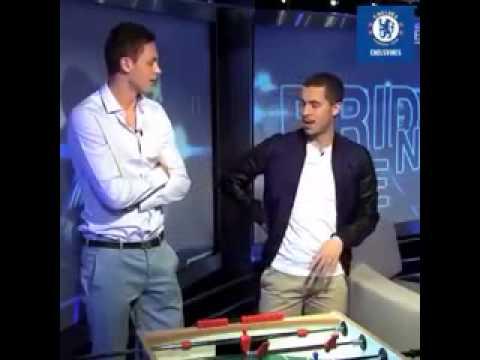 Hazard pronounces Matic's first name lol