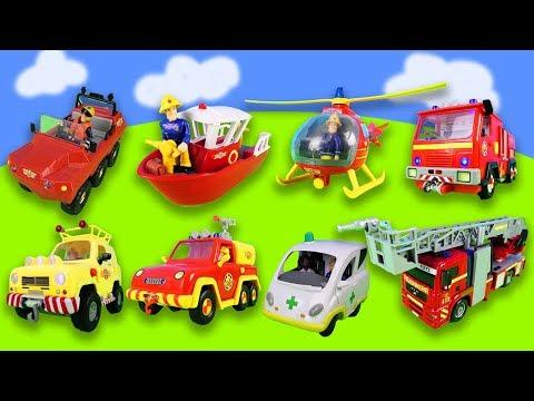 1 Stunde Spaß Mit Feuerwehrmann Sam: Feuerwehrautos, Helikopter, Rettungseinsätze   Compilation