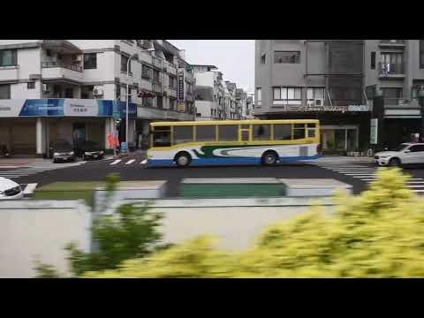 Taichung, Taiwan - Taichung Line - Xinwuri Station to Daqing Station HD (2017)