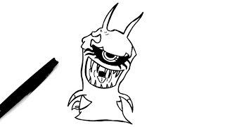 Comment dessiner Frostfang (Slugterra)