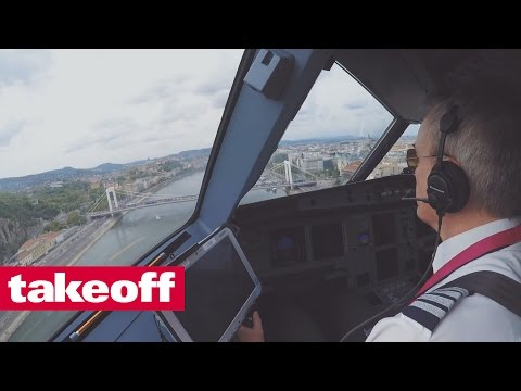 Wizz Air Airbus A 321 Budapest - Fly Overs / Tiefe Überflüge - Subtitles / Untertitel