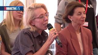 Встреча с кумиром… Сахалинцы в рамках кинофестиваля общаются с режиссерами и актерами фильмов.