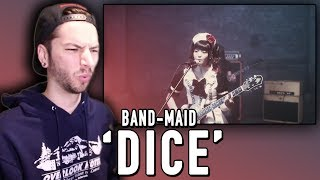 "BAND-MAID ""DICE"" REACTION!"