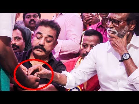 Kamal, Rajinikanth Examine Rice grown in Cauvery Delta | Nadigar Sangam protest