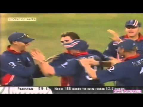 ANDERSON's BEST 4 WICKETS VS PAKISTAN   2003 WC