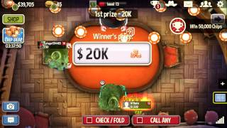 How To Win At Governor Of Poker 3 - Spin & Play 5000 - Win 20000