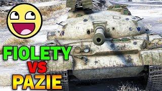 FIOLETY vs PAZIE - Turniej 3vs3 o Złoto - World of Tanks