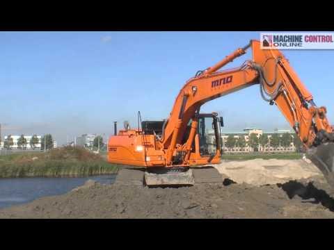 Amsterdam Network Excavator | 3D Machine Control
