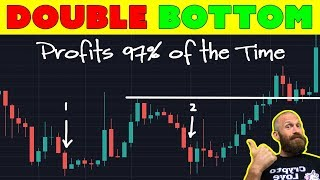 Double Bottom Pattern for Cryptocurrency [Trading Tip]