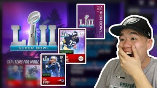 Super Bowl Promo Pack Opening - Insane Multiple 95+ Pulls