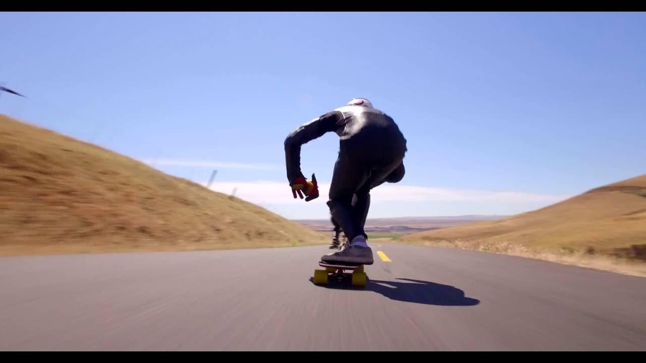 DJI OSMO: Amazing Downhill Skateboarding