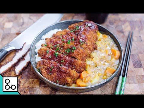 Porc Tonkatsu curry & riz - YouCook