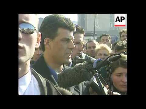 KOSOVO: MITROVICA: RALLY