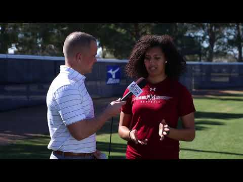 2018 NM State Softball Media Day: Victoria Castro