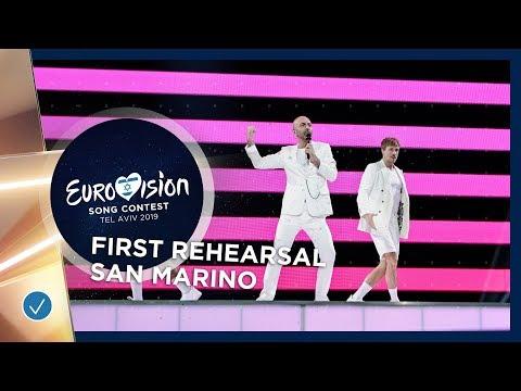 San Marino 🇸🇲 - Serhat - Say Na Na Na - First Rehearsal - Eurovision 2019