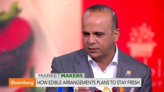 Click Through the Brick' With Edible Arrangements  Video   Bloomberg 2