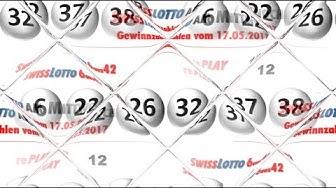 Swiss Lotto am Mittwoch: Lottozahlen & Quoten vom 17.05.2017