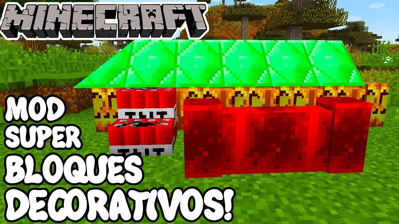 Minecraft mod super bloques decorativos for Bloques decorativos