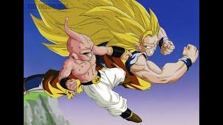 Goku Y Vegeta Vs Kid Buu Pelea Completa [720p HD] Audio Español