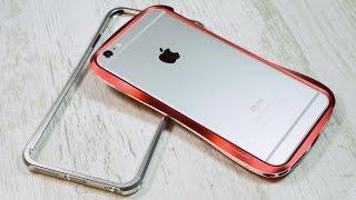 Обзор металлических бамперов DRACO для iPhone 6 Plus (review)