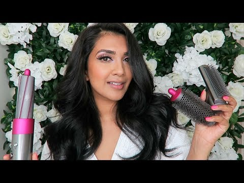 Dyson Hair Dryer | Airwrap Complete Set | Review | Vithya Hair and Makeup thumbnail