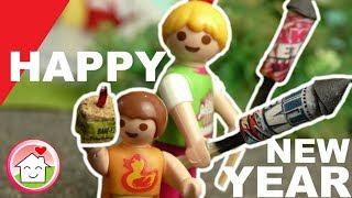 Playmobil Silvester mit Familie Hauser 2017 - Kinderfilm - Playmobil Film deutsch