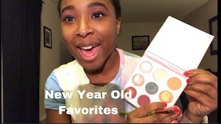 New Year Old Favorites Makeup Look