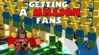 [Roblox] Fan Group Simulator: GETTING 1.000.000 FANS! (How to buy fans like crazy)
