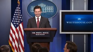 10/23/14: White House Press Briefing
