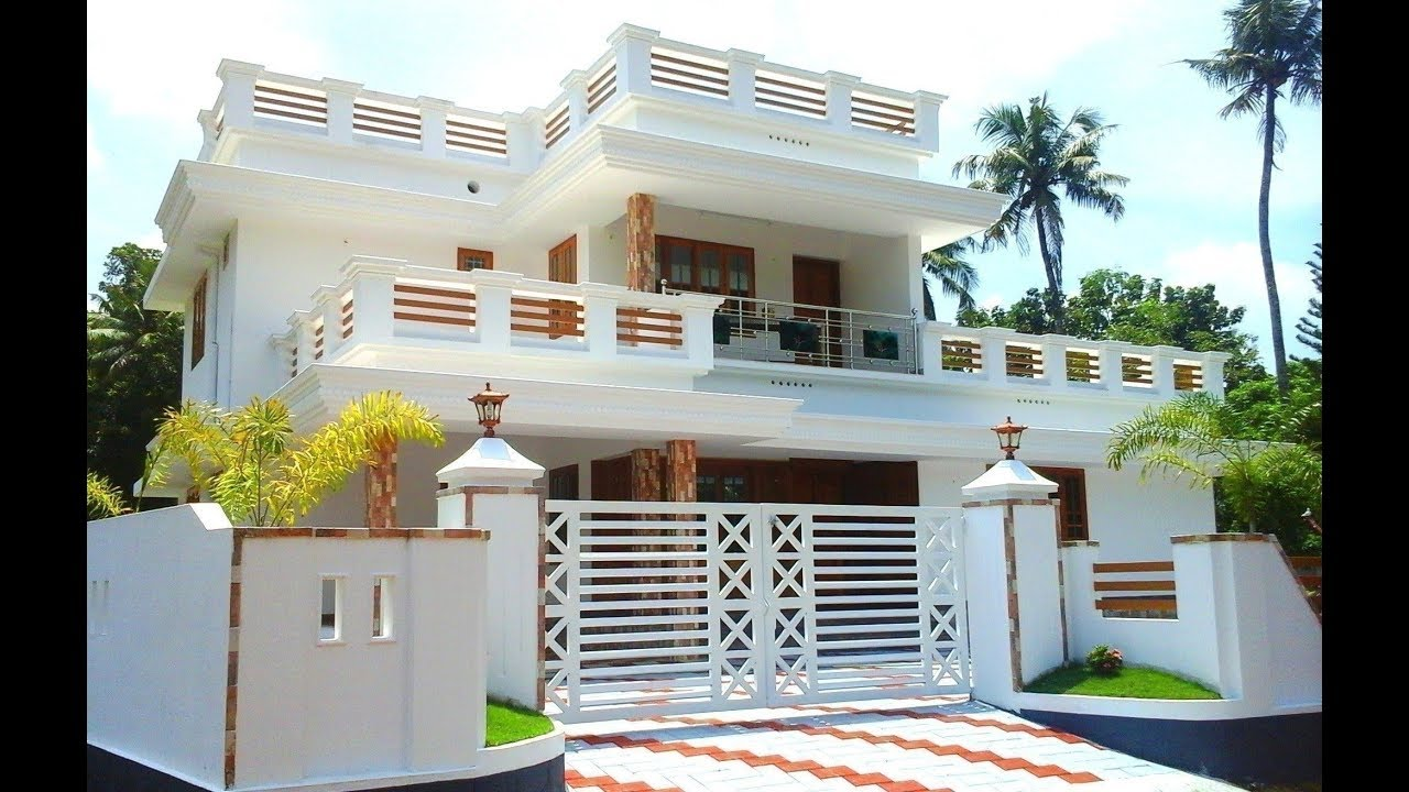 Cute Small Double Floor House 1300 Sft For 13 Lakh
