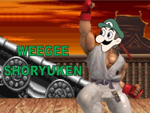WEEGEE SHORYUKEN- SSB Wii U
