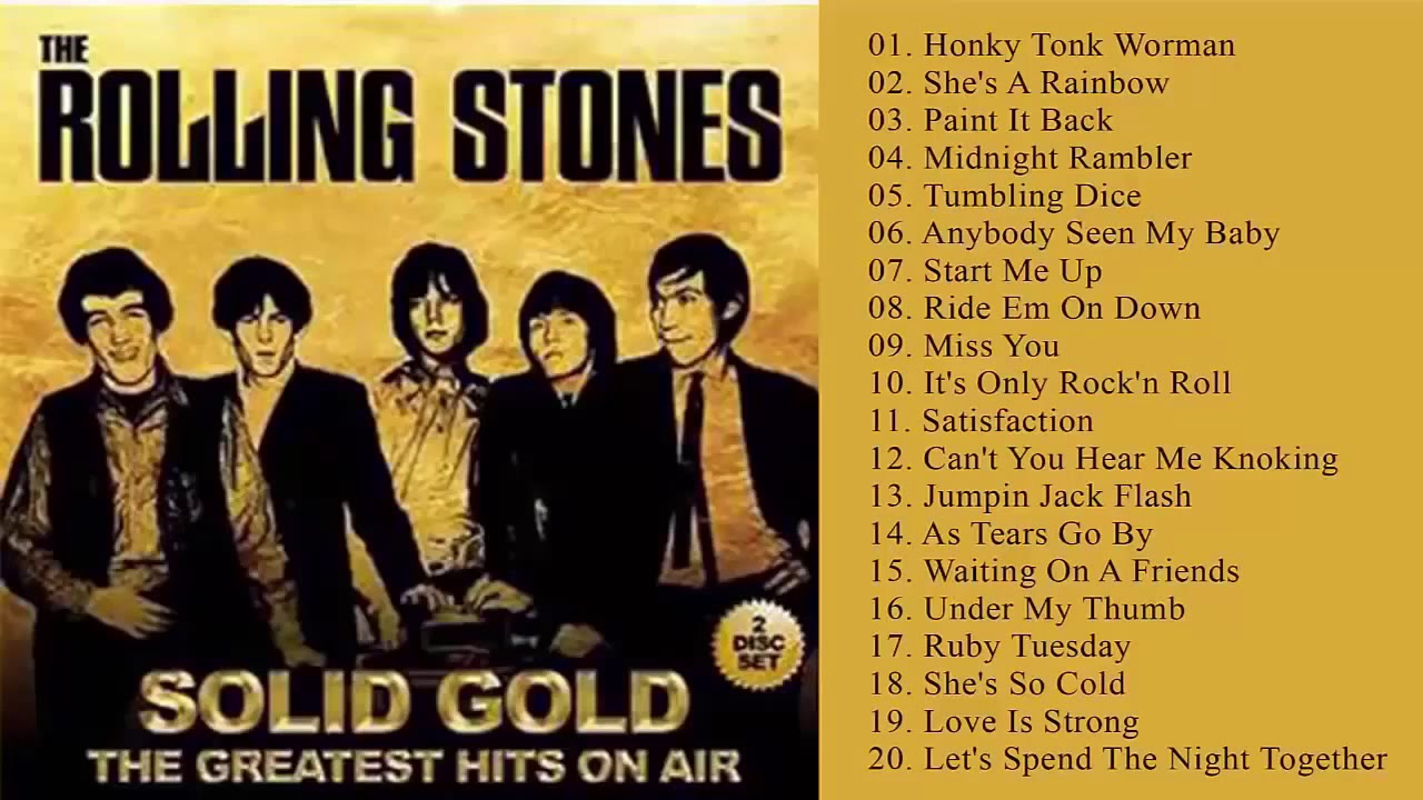 The Rolling Stones Greatest Hits Full Album 2020 - Best Songs of The Rolling Stones Collection