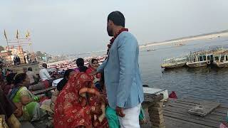 #свадьбавИндии на берегу Ганги. Невеста плачет